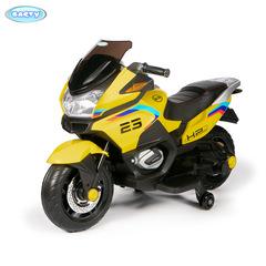 Детский электромотоцикл Barty XMX609, модель 2021год желтый