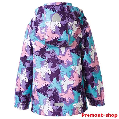 Ветровка для девочек Premont S18183 Нежный Оксалис