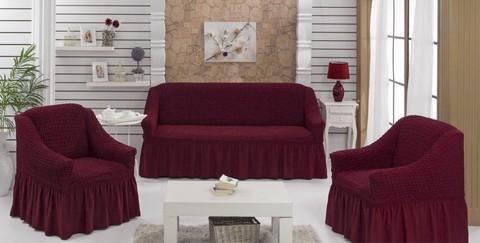 Набор чехлов на трехместный диван и два кресла Ettore