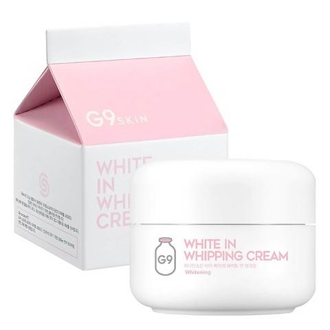 Berrisom G9 White In Milk Capsule Eye Cream отбеливающий крем для кожи вокруг глаз с молочными протеинами
