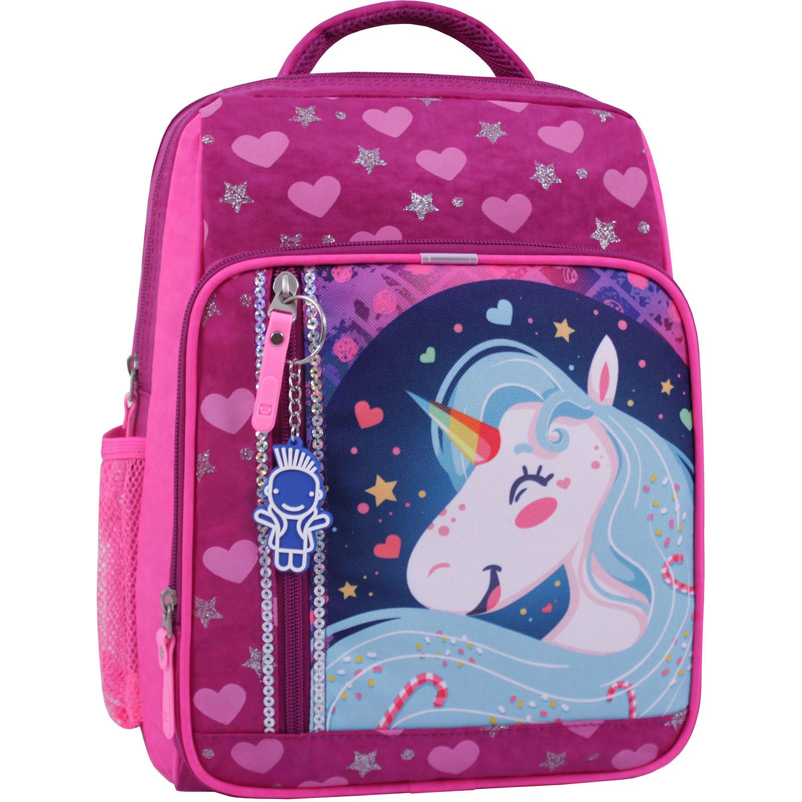 Детские рюкзаки Рюкзак школьный Bagland Школьник 8 л. 143 малиновый 504 (0012870) IMG_0843_суб.504_.JPG