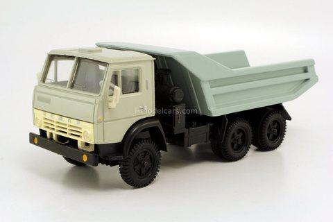 KAMAZ-5511 (horizontal stiffeners body) gray 1994 Elecon Arek 1:43
