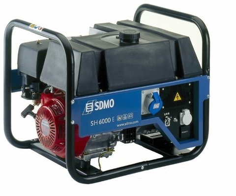 Кожух для бензинового генератора SDMO SH6000E S (6000 Вт)