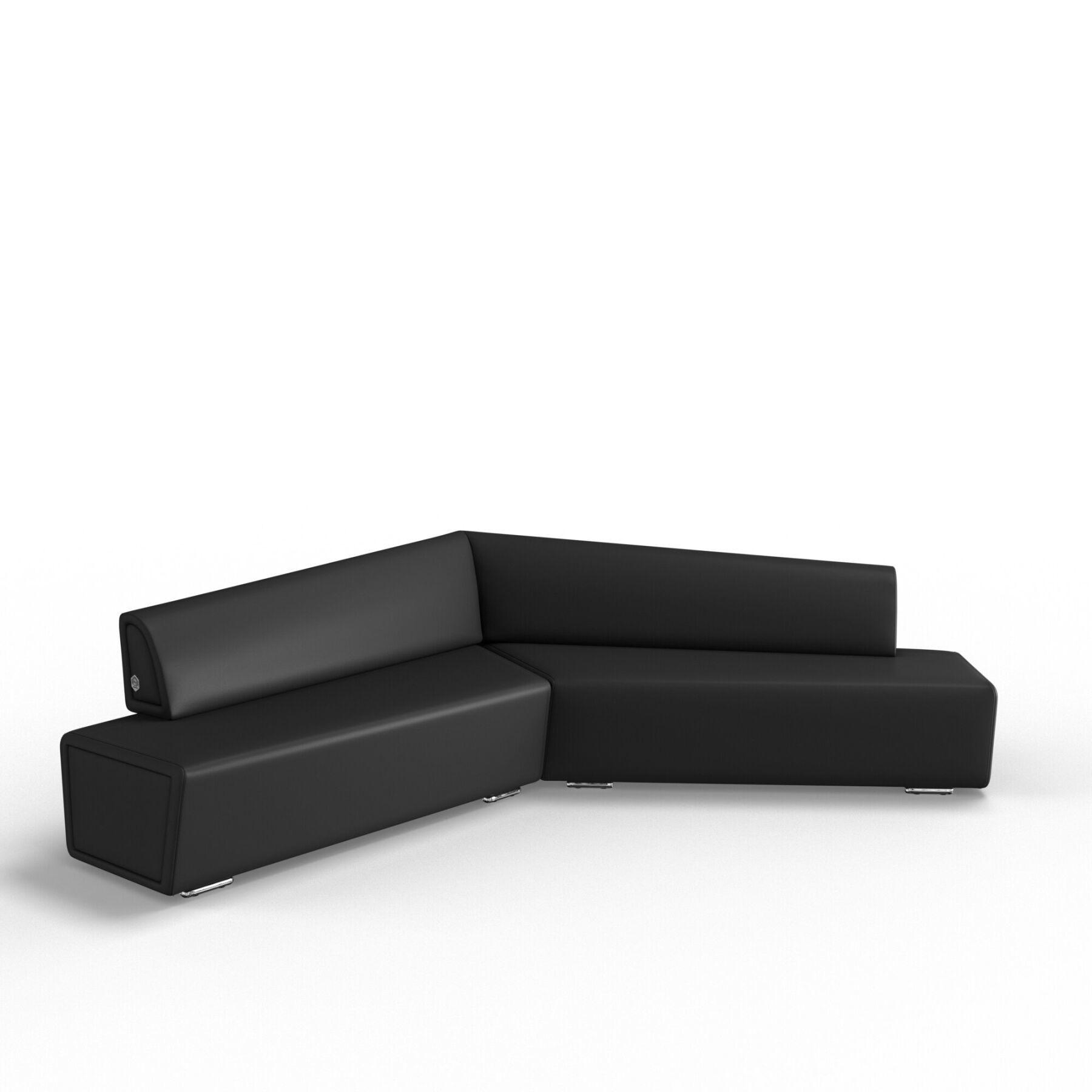 Трехместный диван KULIK SYSTEM COPTER Экокожа Левый и правый
