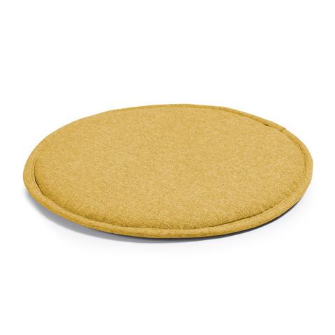 Подушка Stick круглая горчичная