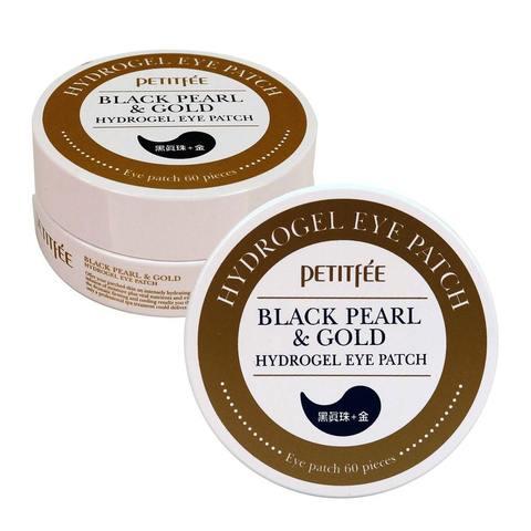 Гидрогелевые патчи для глаз ЖЕМЧУГ/ЗОЛОТО PETITFEE Black Pearl&Gold Hydrogel Eye Patch, 60 шт