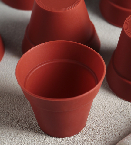 Набор форм для выпечки  «Цветочные горшочки», 6,5×5,5 см, 6 шт