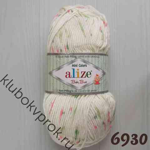ALIZE BABY BEST MINI COLORS  6930,