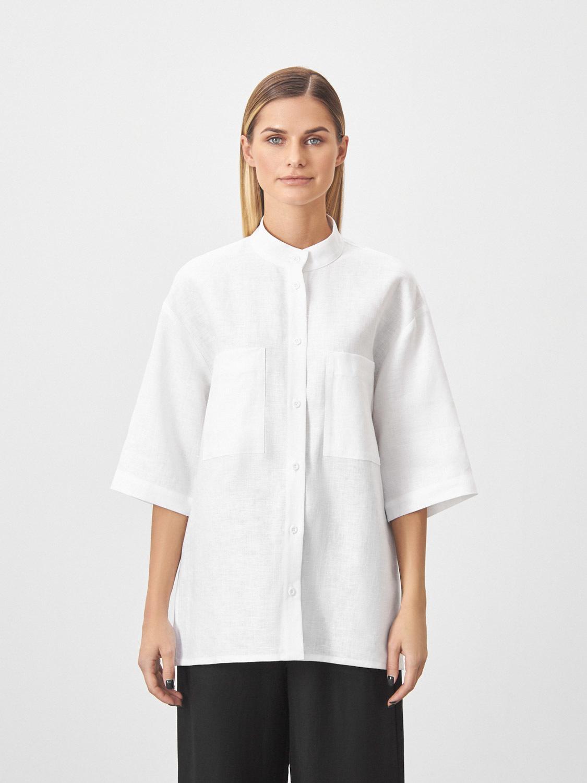 Рубашка Paula со стойкой