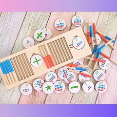 Развивающая игра Простая математика ToySib