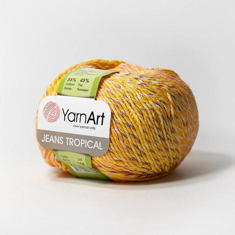 Пряжа YarnArt Jeans Tropical цвет 617