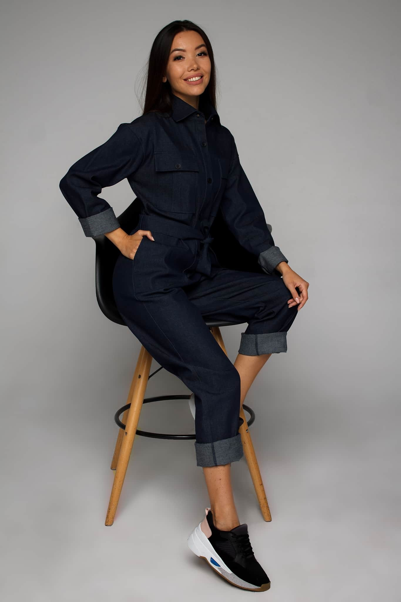 джинсовые комбинезоны от украинского бренда Your Own Style
