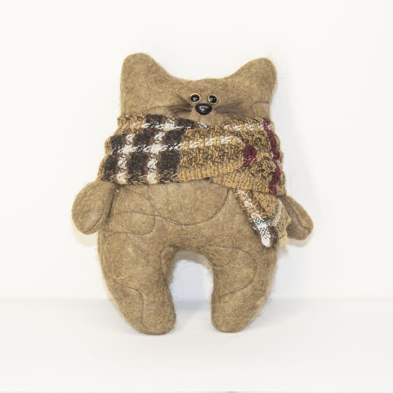 Котик с шарфиком