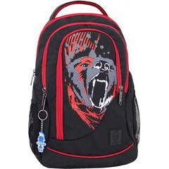 Рюкзак Bagland Бис 21 л. Чёрный/красный (0055670)
