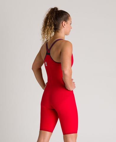 (2020) Cтартовый костюм Arena Powerskin Carbon AIR² Closed Back red ПОД ЗАКАЗ