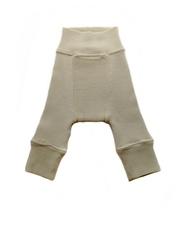 Шерстяные штанишки Babyidea, Натуральный, уценка