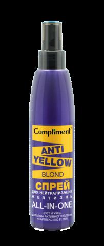 Compliment Anti-Yellow Blond Спрей для нейтрализации желтизны