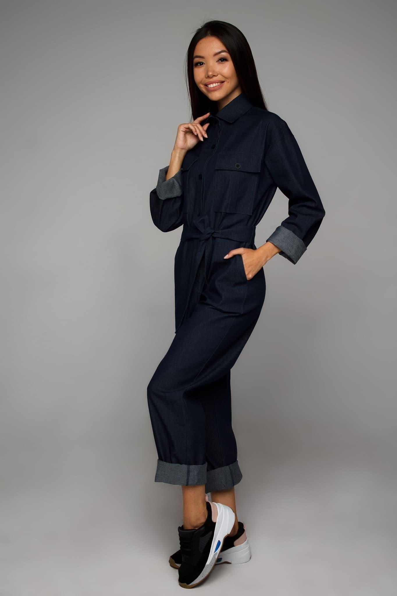 джинсовый комбинезон шорты от украинского бренда Your Own Style