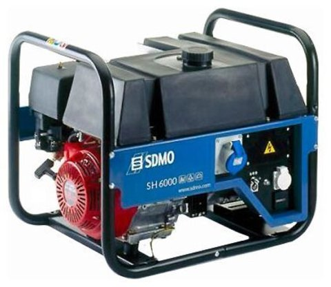 Кожух для бензиновой электростанции SDMO SH6000 S
