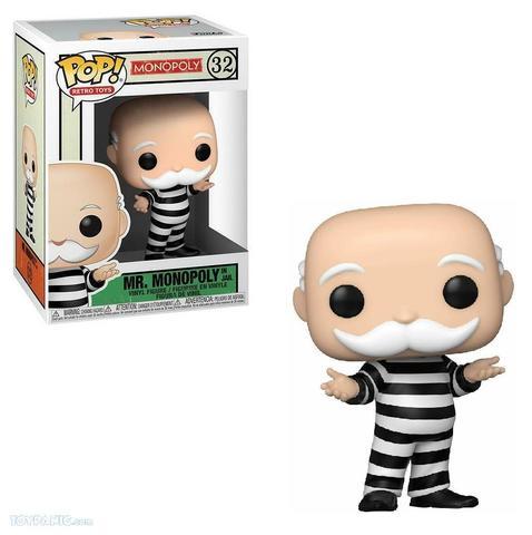 Mr. Monopoly in jail Funko Pop! Vinyl Figure || Мистер Монополия в тюрьме