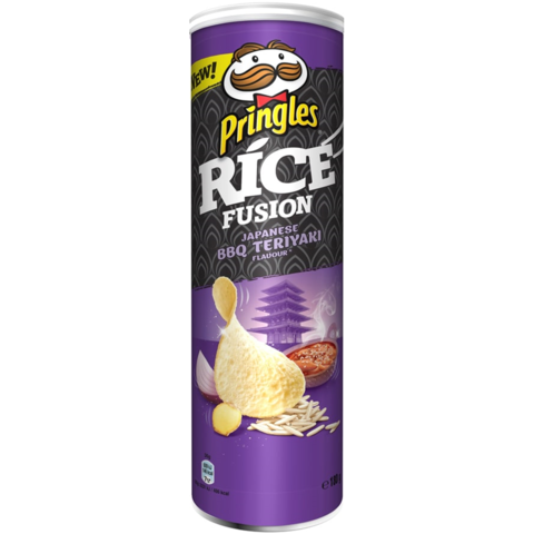 Чипсы Pringles Rice fusion Japanese bbq teriyaki 160 гр