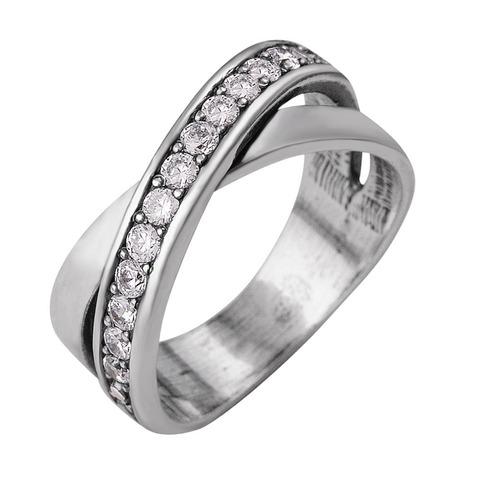 Кольцо с  серебрением