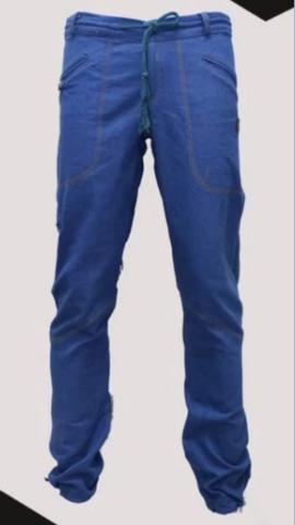 Брюки для скалолазания Hi-Gears The Cliff 4 Season blue jeans (голубые джинсы)