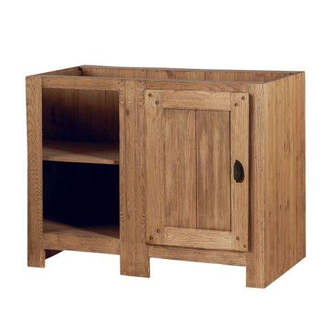 Шкаф напольный с нишей 110