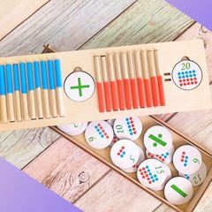 Учимся считать с набором Простая математика ToySib