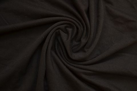 Хлопок кулирка черный 15*15 см
