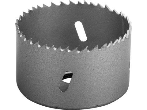 ЗУБР 68мм, коронка биметаллическая, быстрорежущая сталь