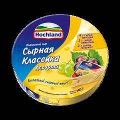 """Сыр плавленный """"Hochland"""" ассорти сырное, 140 г"""