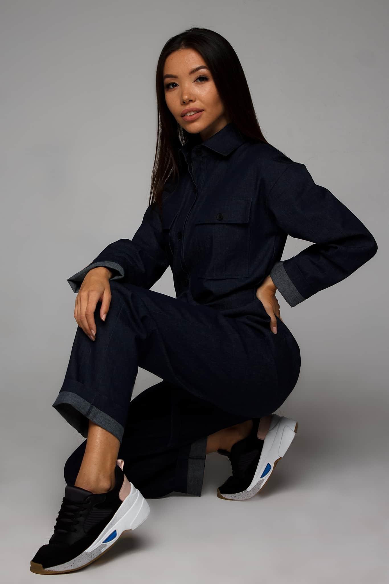 комбинезон джинсовый женский от украинского бренда Your Own Style