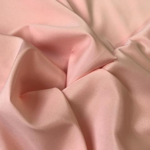 крепдешин розово-персиковый