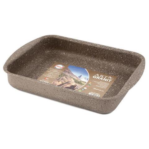 Противень с каменным покрытием 350*270мм - TVS Art Granit
