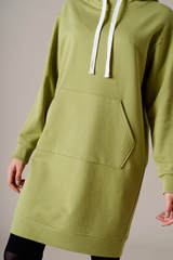Трикотажное платье спортивного стиля