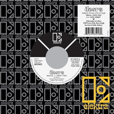 Виниловая пластинка. The Doors - Hello, I love you (7