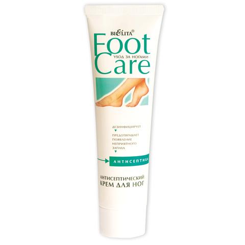Антисептический крем для ног , 100 мл ( Foot Care )