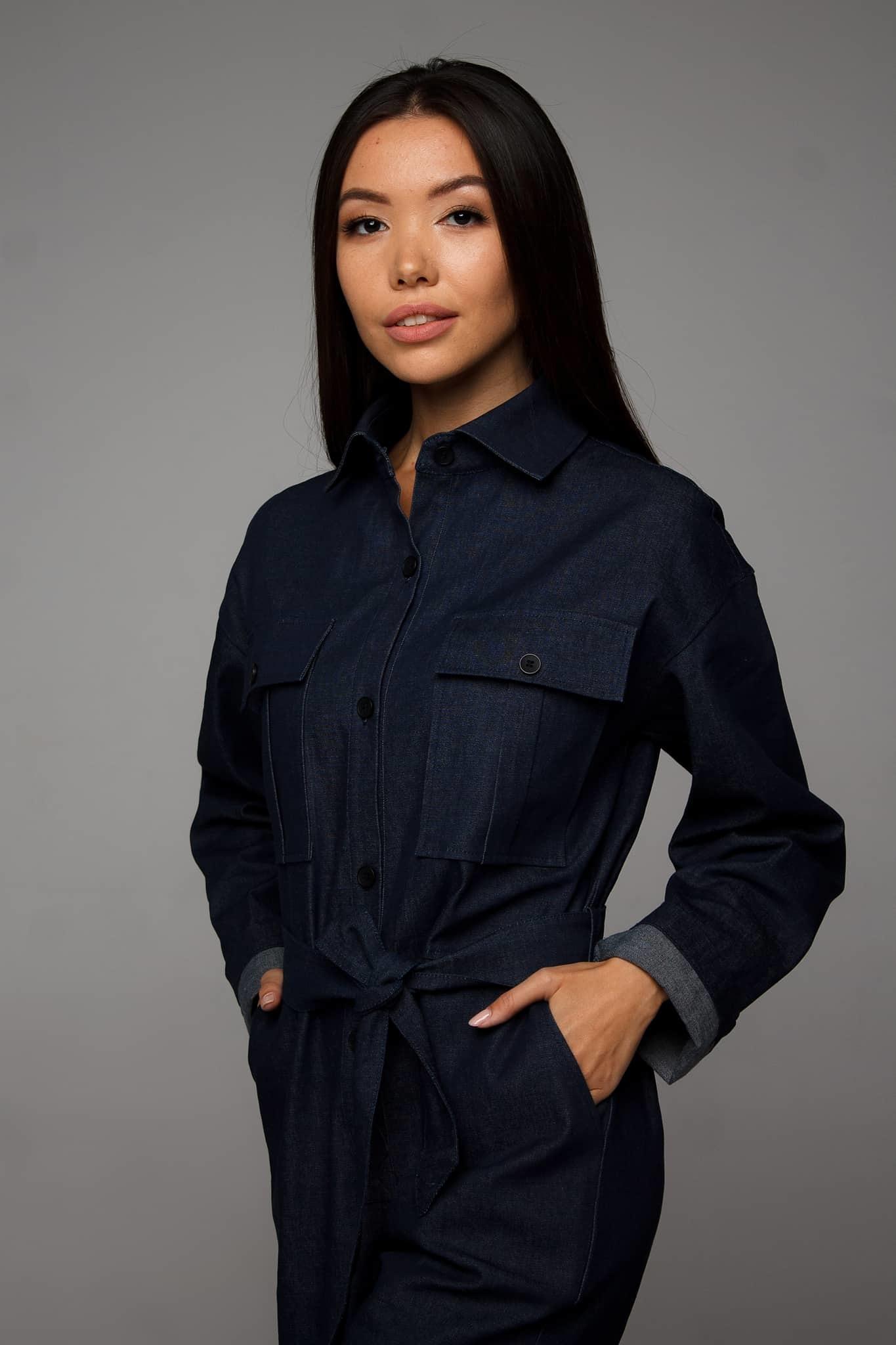 джинсовый комбинезон женский от украинского бренда Your Own Style