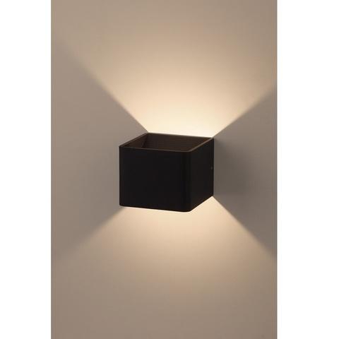 Декоративная светодиодная подсветка ЭРА WL3 BK 6Вт IP20 черный
