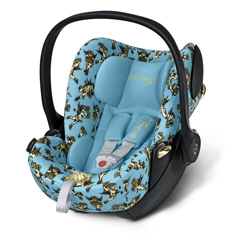 Cybex Cloud Q Cherubs by Jeremy Scott