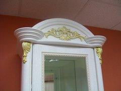 Шкаф 4-х дверный Да Винчи белый