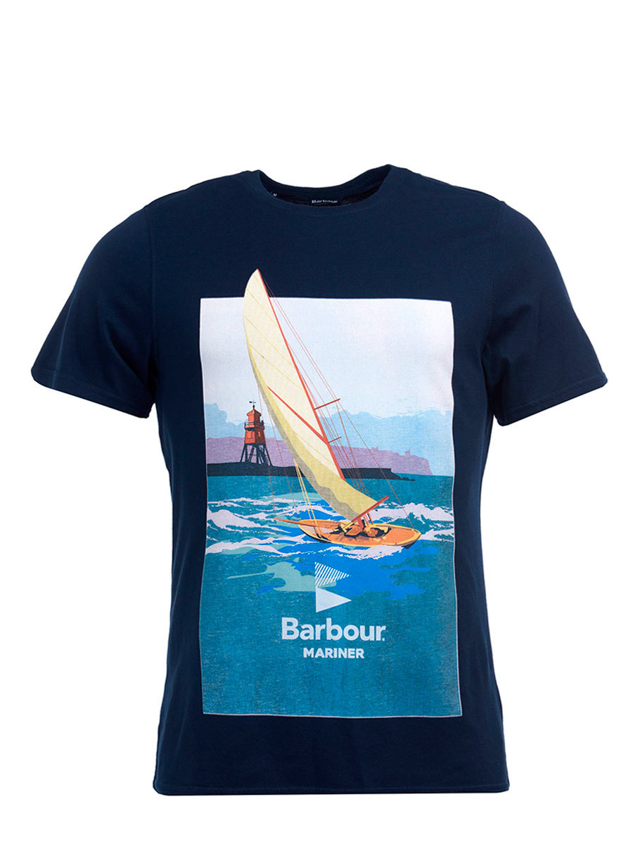 Barbour футболка Outboard Tee MTS0678/NY91