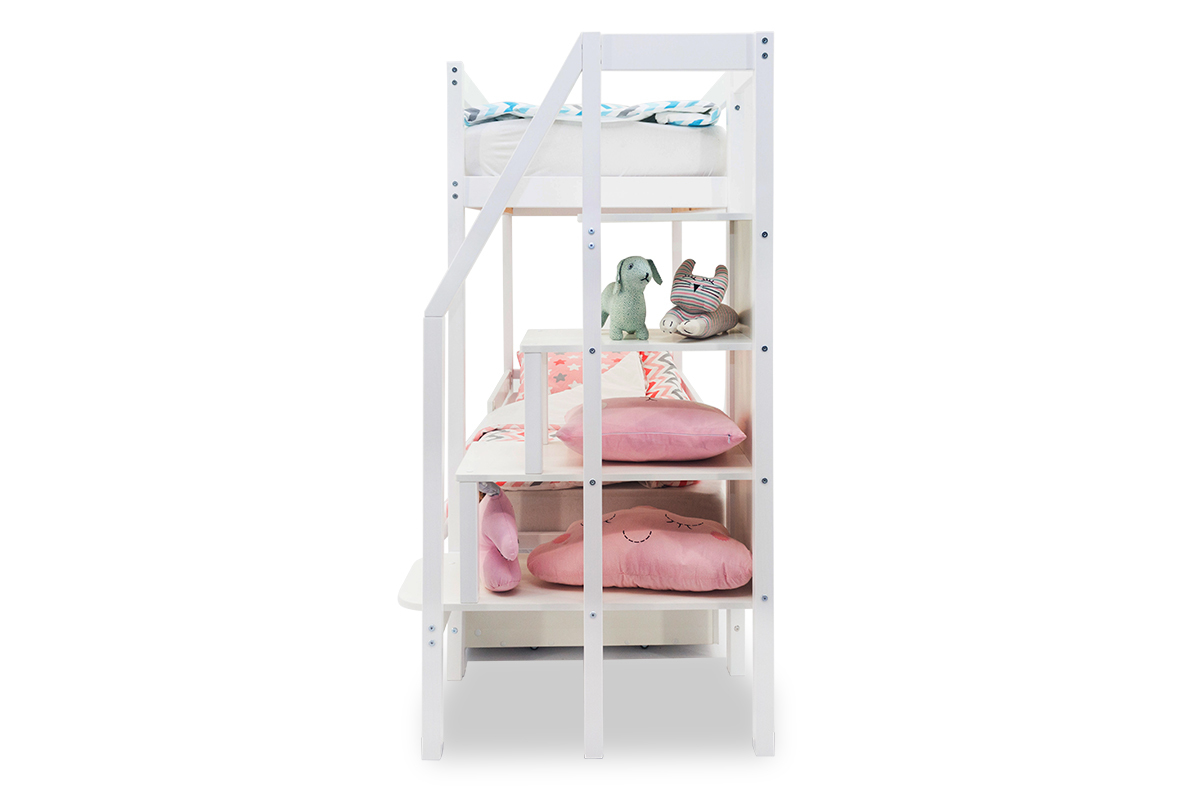 Двухъярусная кровать «Svogen» белый