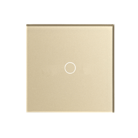 Выключатель Hiper HIPER Sensor Switch S1G1-01G Golden