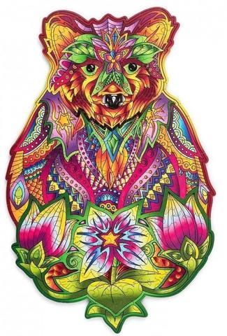 Вдохновленный медведь (Wood Trick)
