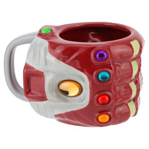 Кружка 3D Marvel Avengers Nano Gauntlet Shaped Mug