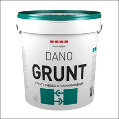 Грунт глубокого проникновения Dano GRUNT (белый)