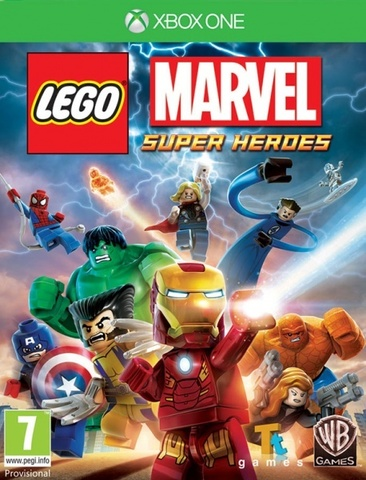 LEGO Marvel Super Heroes (Xbox One/Series X, русская документация)
