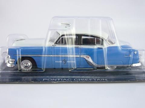 Pontiac Chieftain 1954 Cuba Police 1:43 DeAgostini World's Police Car #75